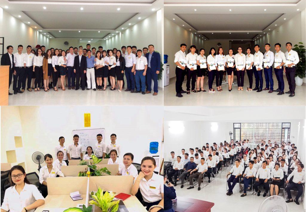 Sàn giao dịch bất động sản Tâm Quê với đội ngũ sale chuyên nghiệp